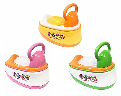 3in1 Multi functional Baby Potty Trainning Chair Toilet Seat Stool Steps Ladder