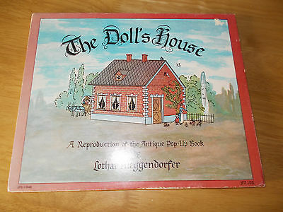 Foldout Dolls House  Book printed 1979