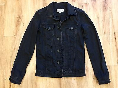 All Saints Black Denim Jacket / XS / Perfect Condition / Men's / Extra Small