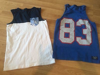 Two Boys Vests Next George Summer Age 10-11
