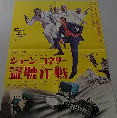 The Anderson Tapes Original Japanese B2 poster