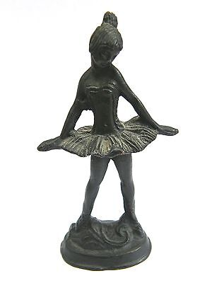 Antique-Russian Bronze Statuette/Statue Of A Stylised Ballerina Dancer-c1890's