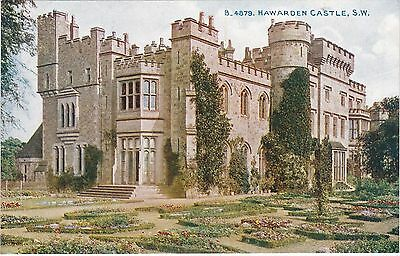 The Castle & Gardens From South West, HAWARDEN, Flintshire