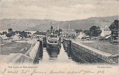 The Canal Locks, FORT AUGUSTUS, Inverness-shire