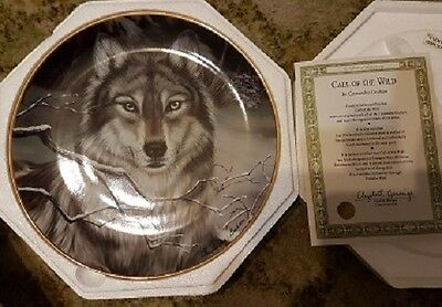 Franklin Mint porcelain plate - Call of the Wild