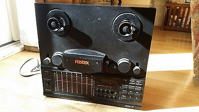 Fostex Model 80 8 Track Reel To Reel Tape Recorder Home Studio