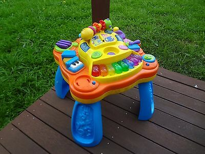 Bruin Musical Activity Table plus Fisher Price Telephone