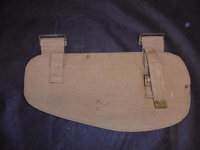 WWII British Military 1908 Pattern Entrenching Tool Webbing Cover 1941 dated (B)