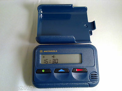 Motorola Pageone Minicall Pager No Contract With Case - ACTIVATED & WORKING
