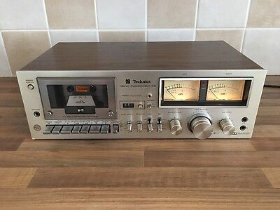 Technics Stereo Cassette Deck - Rs-631 - Tested Working