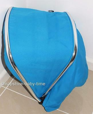 Silver Cross Wayfarer & Pioneer hood to fit seat unit & carrycot - Blue