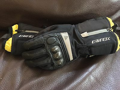 Dainese Motorbike Gloves - Size small