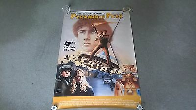 Young Sherlock Holmes and the Pyramid of Fire UK one sheet poster