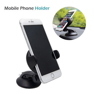 Holder Mount Universal 360° in Car Windscreen Dashboard For GPS Mobile Phone  UK