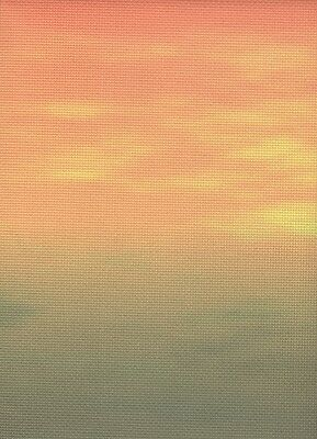 Fabric Flair African Sunset 14 count Aida - 30 x 90cm piece