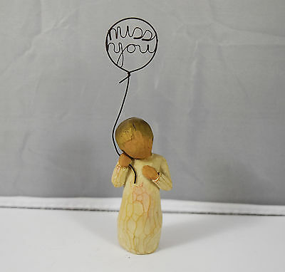Good Condition Willow Tree Susan Lordi Miss You Figurine