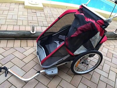 Thule Chariot Cougar 2 Child/Toddler Bike Carrier