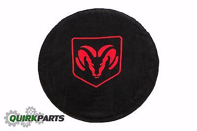 1994-2017 Dodge Ram Black Steering Wheel Cover Armour Protector With Ram Logo
