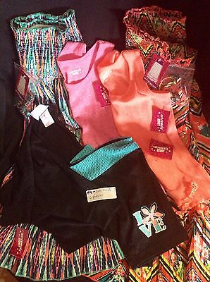 Girls Size 4 Clothes Lot  6 Colorful Coordinating Pieces EXTREMELY ME