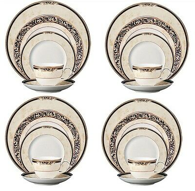 Wedgewood Cornucopia mid 90's (AS NEW) 5 setting 20 pieces MADE IN ENGLAND  rare