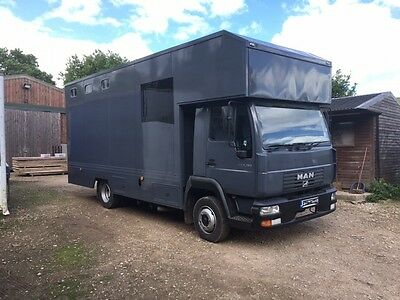 MAN 7.5 Ton horse box lorry