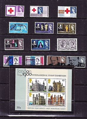 Great Britain stamps -  Queen Elizabeth Used