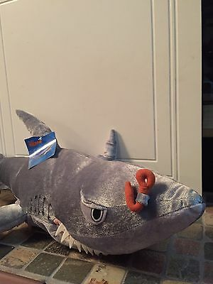 "Rare Disney Store Finding Nemo Chum Huge Giant Plush Puppet 34"" New With Tag"