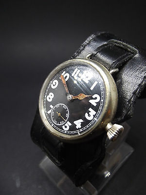 Really very rare WW1 trench watch   Military Issue British .....fully working