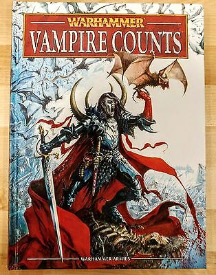 Vampire Counts Army Book (Hardcover) - Warhammer Fantasy 8th Edition