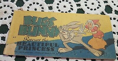 VINTAGE ♡ QUAKER PUFFED RICE ♡ BUGS BUNNY Rescues the BEAUTIFUL PRINCESS COMIC