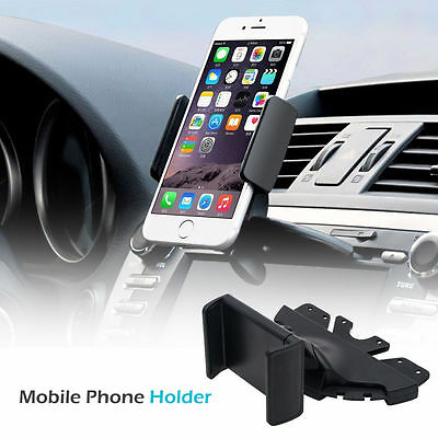 Universal Car CD Slot Phone Mount Holder Stand Cradle For iPhone Android Mobile