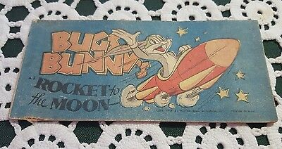 VINTAGE ♡ QUAKER PUFFED RICE ♡ BUGS BUNNY ROCKET to the MOON  COMIC BOOK