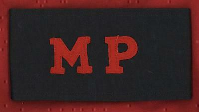 Original British WW2 Military Police MP Armband