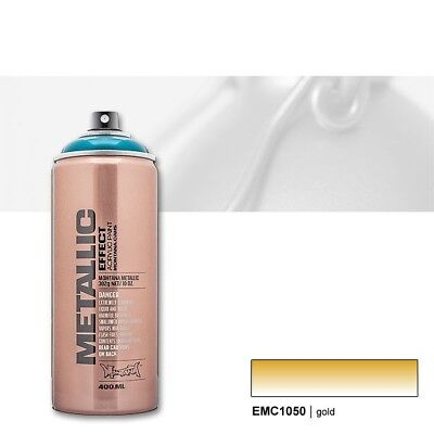 Montana Metallic gold 400 ml Sprühdose
