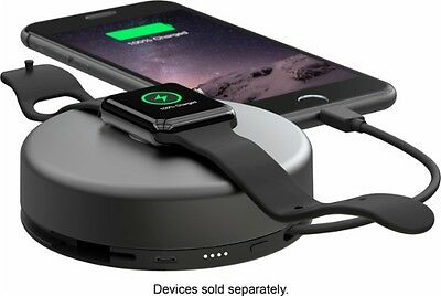 Nomad - Pod Pro Portable Charger - Space Gray PODPRO-APPLE-S-001