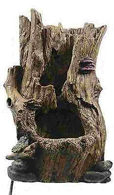Indoor Table Water Fountain Feature Tree Trunk Design