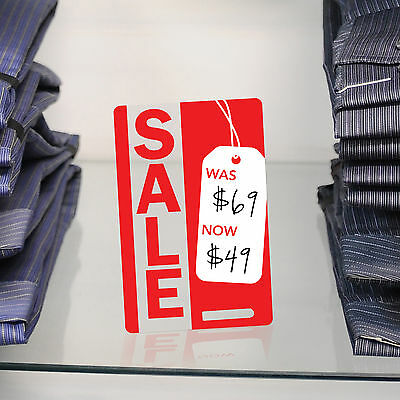 Retail point of sale price whiteboard cards set of 3