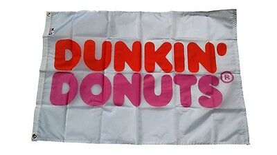 Vintage Dunkin' Donuts Flag from 1980's