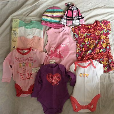 NEW Baby girl clothes bundle - Newborn to 3 months