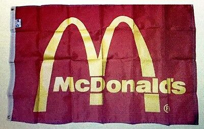 Vintage McDonald's Flag from 1980's.