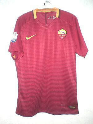 Roma-Match Worn Shirt Maglia Indossata-Perotti-Tim Cup-Matchday Authenticated