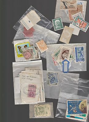 Job lot of World used stamps