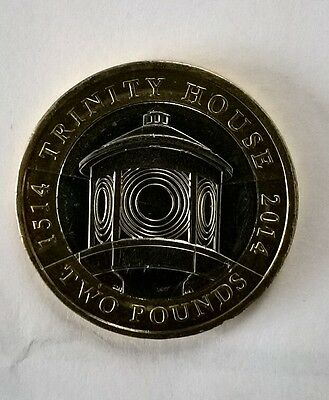 RARE £2 Coin 2014 - Trinity House 1514-2014 Serving the Mariner - CIRCULATED
