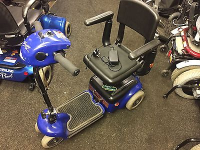 Shoprider Whisper Carboot Mobility Scooter Good Condition Been Serviced