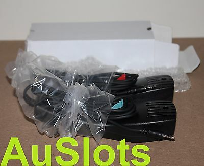 Scalextric Sport Hand Controllers x 2 (1 Blue, 1 Red)