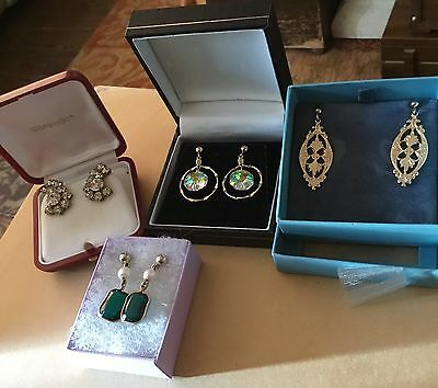 Vintage Earrings Lot