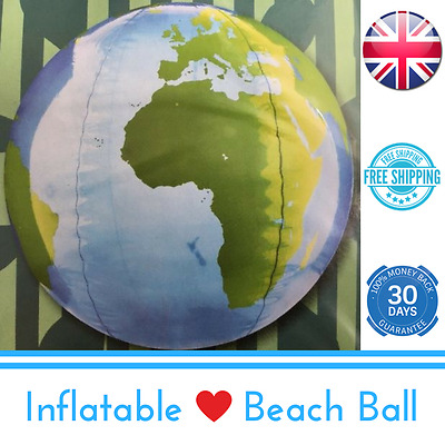 Brand New Giant Inflatable Globe Beach Ball - Holiday Swimming Pool Summer Party