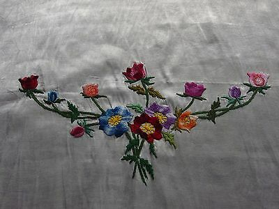 vintage hand worked embroidery