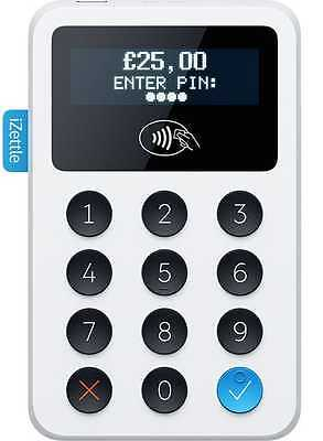 iZettle chip and PIN - Card Reader with Contactless Payments