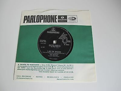 "The BEATLES * HELLO GOODBYE * 1967 7"" SINGLE R 5655 Export MADE IN FRANCE !"